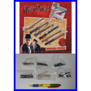 SET 6 PENNE Pennini per Touch Screen MINI BACCHETTA MAGICA HARRY POTTER Voldemort Silente Hermione etc. TOMY