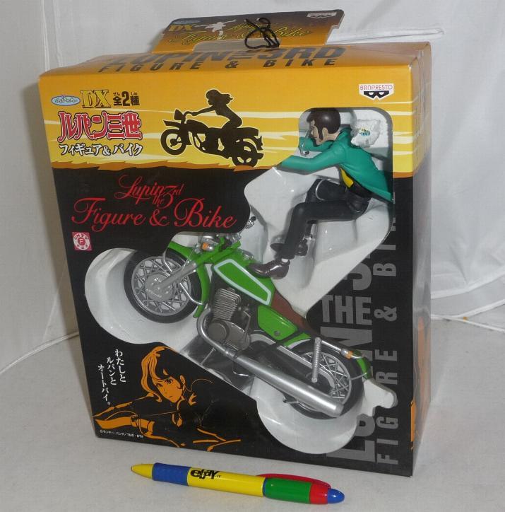 Lupin rd rara figura in moto figure and bike