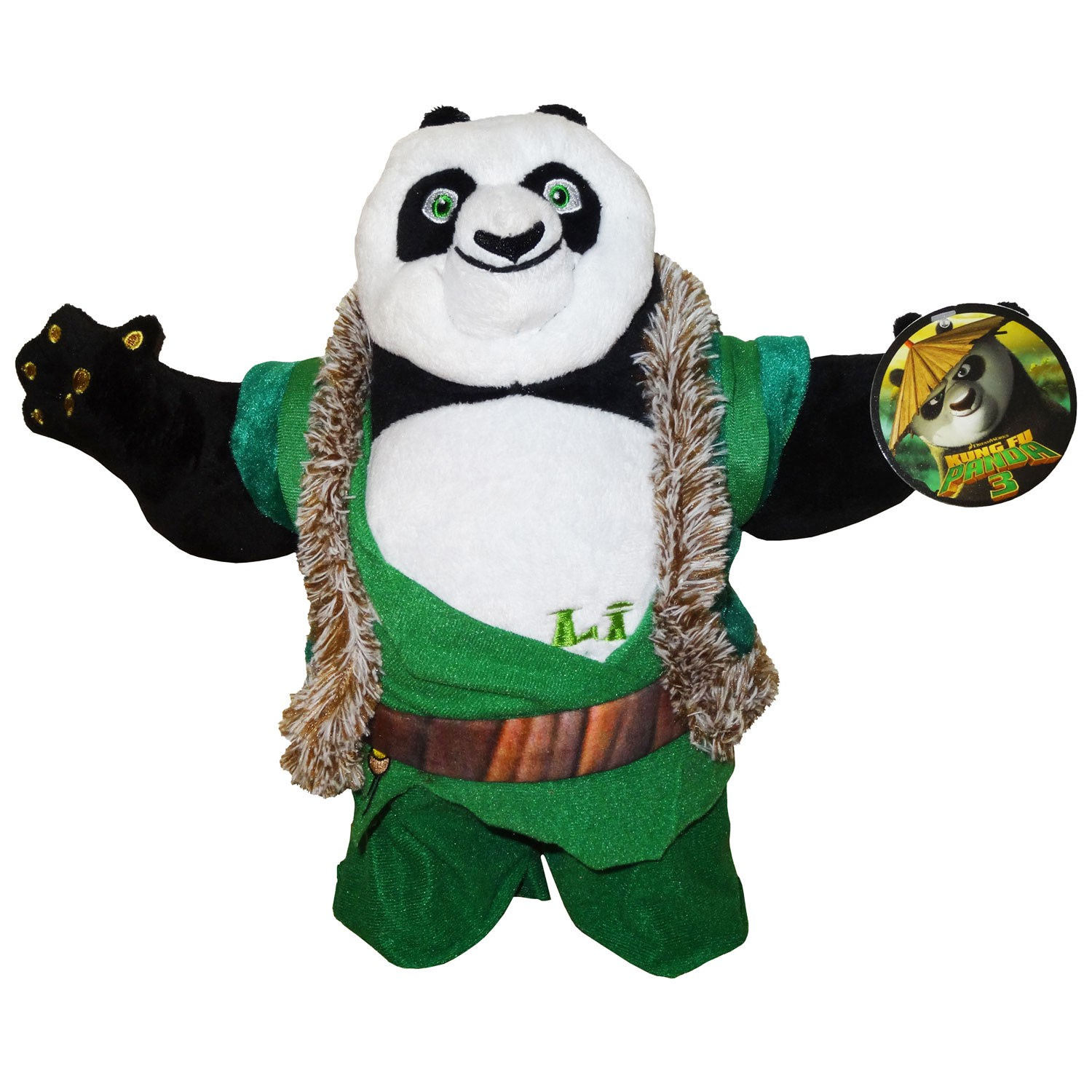 kung fu panda 3 peluche 30cm scelta personaggio top quality plush character new ebay. Black Bedroom Furniture Sets. Home Design Ideas