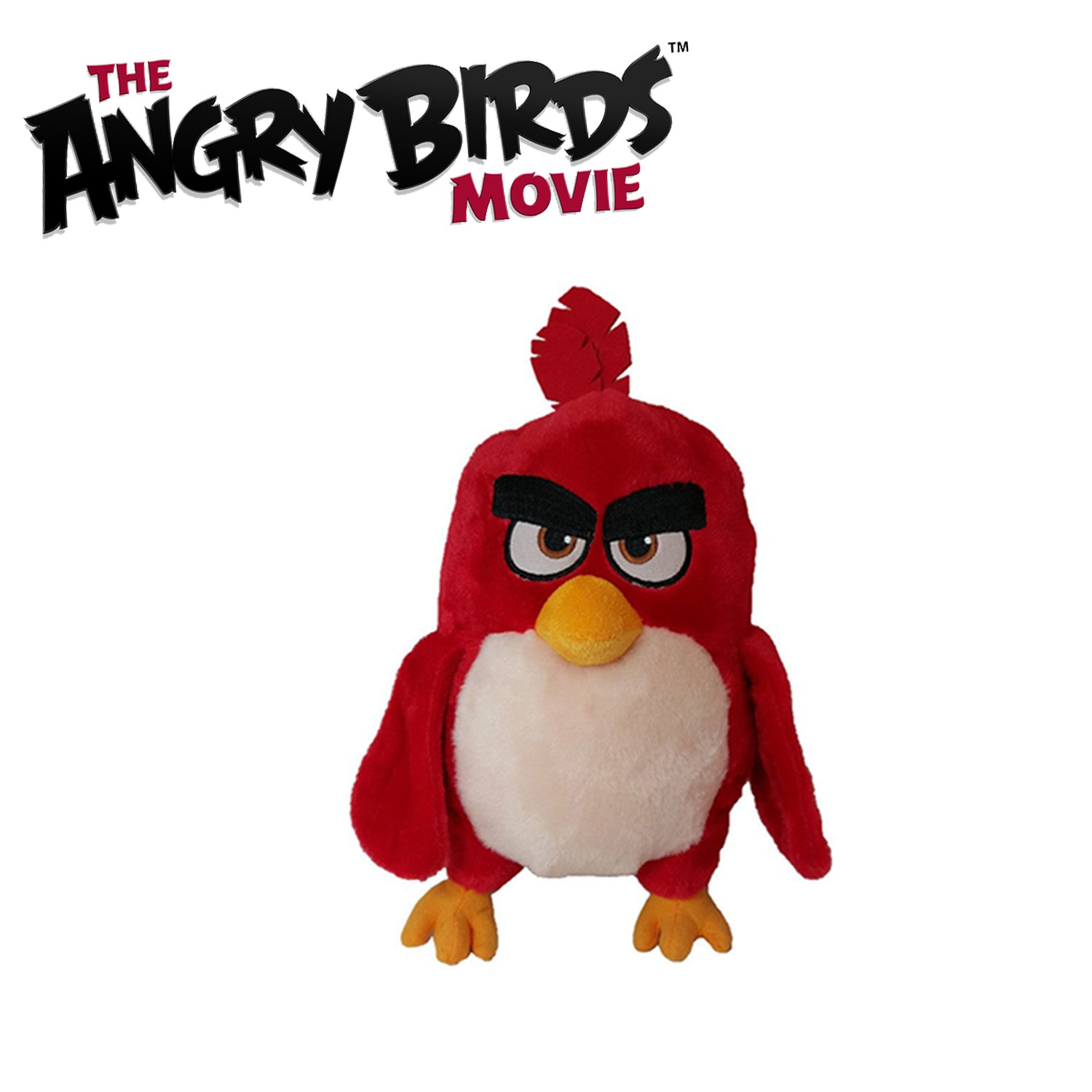 peluche angry birds movie 20cm film 2016 a scelta ufficiale rovio plush beanie ebay. Black Bedroom Furniture Sets. Home Design Ideas