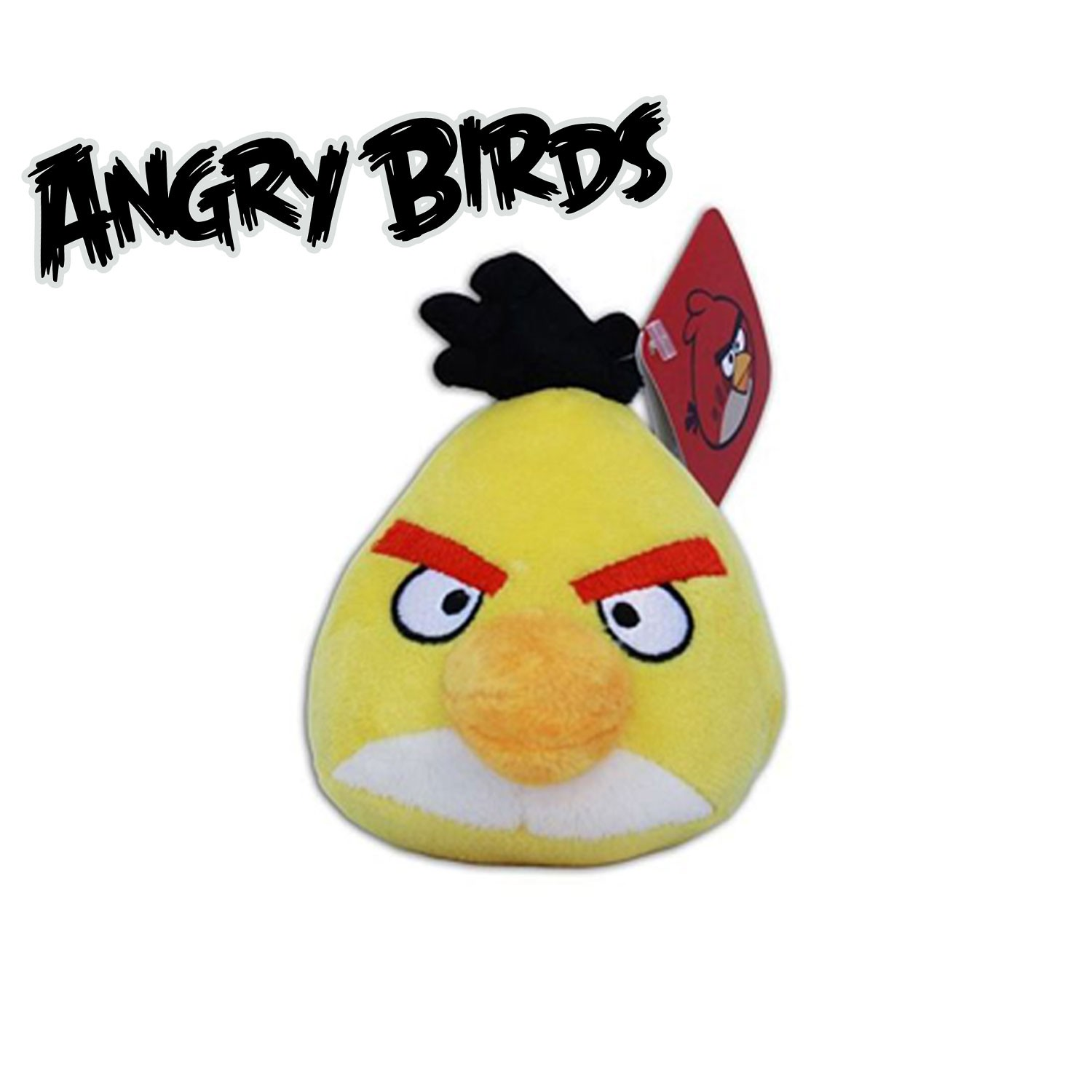 peluche angry birds videogioco 10cm originale rovio a. Black Bedroom Furniture Sets. Home Design Ideas