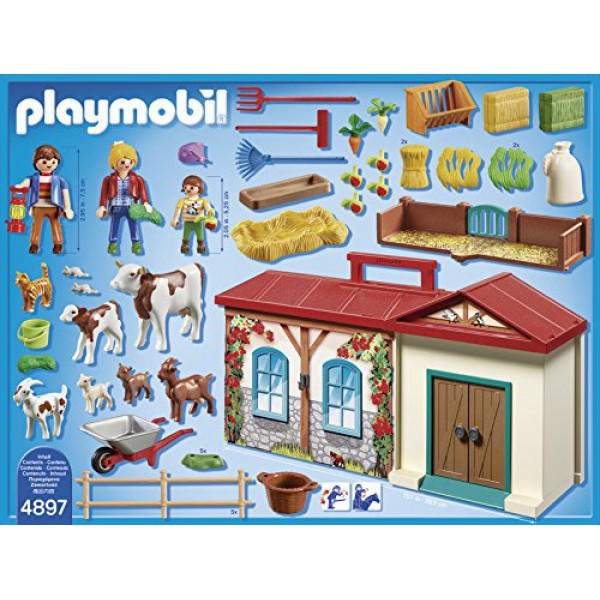 playset fattoria portatile playmobil country 4897 portable. Black Bedroom Furniture Sets. Home Design Ideas