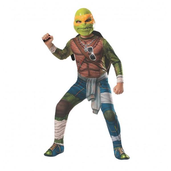 karnevalskost me teenage mutant ninja turtles kind michelangelo rubie rubine ebay. Black Bedroom Furniture Sets. Home Design Ideas